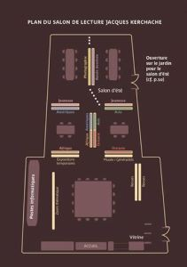 Plan salon Jacques Kerchache