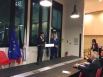 Jérôme Viaud, Maire de la Ville de Grasse et Jean-Pierre Leleux, sénateur des Alpes-Maritimes